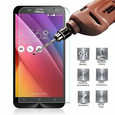 9H+ Premium Tempered Glass Screen Protector Cover For Asus Zenfone Smart Phones