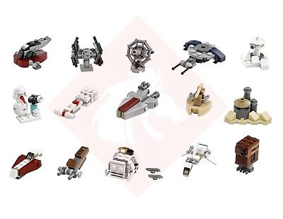 LEGO STAR Wars 15x Mini Sets & instructions from 2016 Advent ...