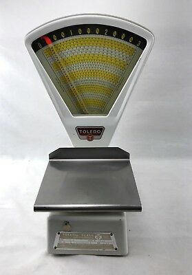 Vintage Toledo 3111 Candy Counter 3lb Scale Clean Working 1978 USA