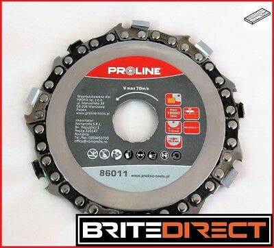 Chain Disc wood 115, 230mm Chainsaw Circular Cutting Chain Saw Blade Best Price!