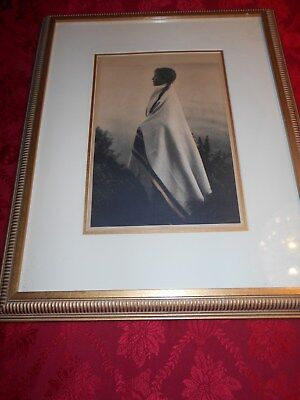 """Roland Reed Photogravure """"Every Wind"""" The Grail of Reed Pieces"""