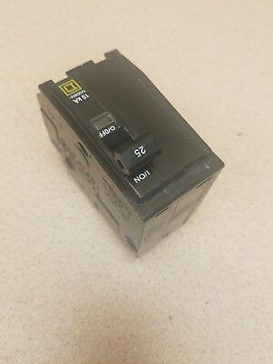 New Square D Qo225 2 Pole 25 Amp 120/240V Plug-In Qo Circuit Breaker