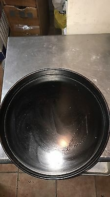 16INCH DEEP DISH PIZZA PAN RESTAURANT QUALITY * All Ready Seasoned Never Used