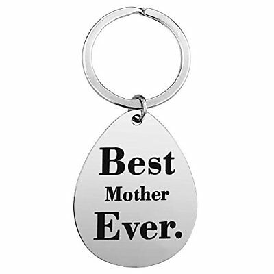 Keychain Gifts for Mom Mother - Mom Gift Idea from Husband Daughter Son Kids ...