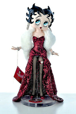 """Betty Boop 21.5"""" Ball Jointed Doll Figure Sculpture Signed By Gregg Ortiz"""