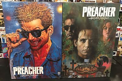 Absolute Preacher Hc Vol #1 2 Complete Set Hc Sealed Retails $300
