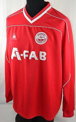 "ABERDEEN FC Football Shirt XL 46""/48"" 2003/04 Long Sleeve Home Retro Jersey"