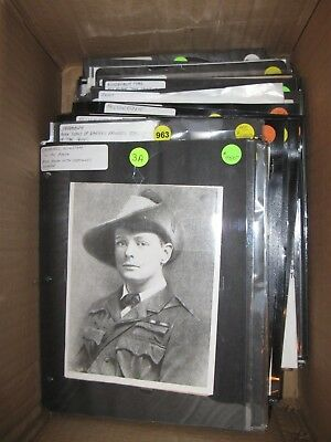 130 Collectible Items (ie. Signatures, Souvenirs, Wax Seals, Letters) and Photos