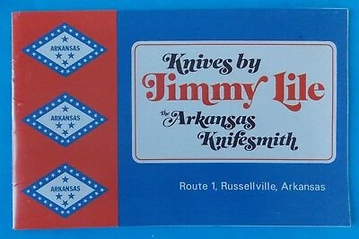 Vintage Rare Knives By Jimmy Lile Catalog And Knife History! Stidham Estate