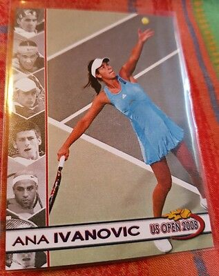 Ana IVANOVIC 2008 US Open card #01/10 Tennis Centre Court Productions