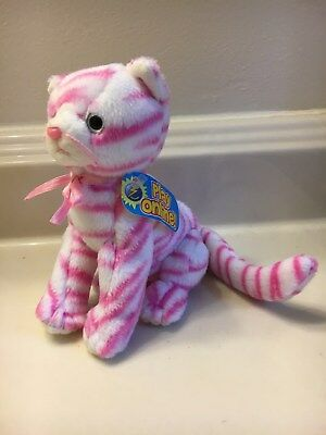 TY Beanie Baby 2.0 - PURRY the Cat (6 inch) - MWMTs Stuffed Animal Toy with Tag
