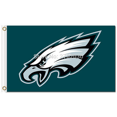 0e6280a6f98 NFL Philadelphia Eagles flag 3x5ft Banner w Grommets American Football