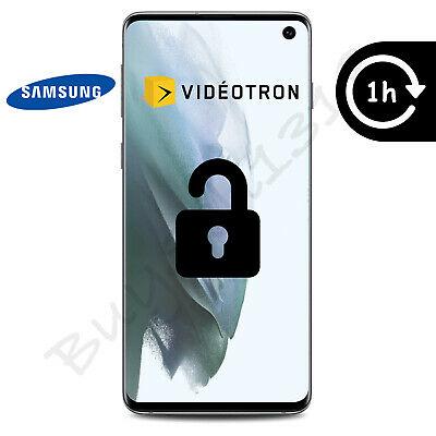Videotron - Samsung Galaxy Unlock Code - Any Model - 1 Hour Or Less