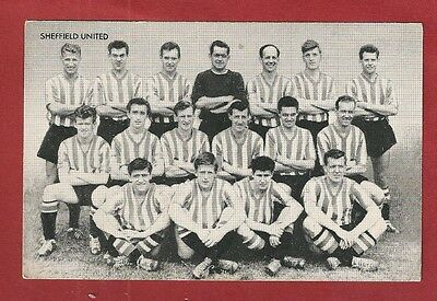 SHEFFIELD UNITED The BLADES  Star Team of 1961  TEAM NAMED