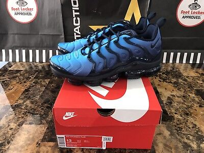 d6617aa8cd5 NEW Nike Air Vapormax Plus Obsidian Photo Blue Black VM Max Tuned 924453-401