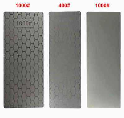 400#/1000# Diamond Knife Sharpening Stone Whetstone Polished Whetstone Tool oe