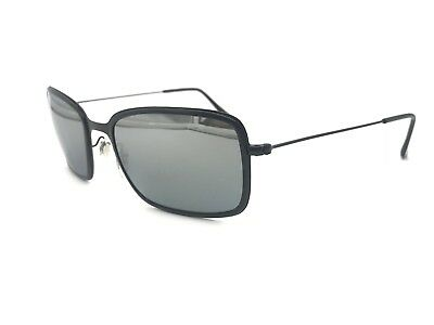 ba8eea1bb8 Ray-Ban RB3514-M 153 82 Matte Black Metal Frame Grey Polarized lenses