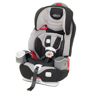 GRACO NAUTILUS 65 LX 3 In 1 Simply Safe Adjust Harness Car Seat