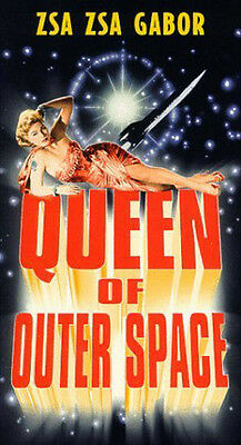 Queen of Outer Space (1958) SEALED VHS Starring: Zsa Zsa Gabor, Eric Fleming