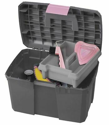 Strong Norton Grooming Tack Box Mounting Block Step Carry Tub - All Colours