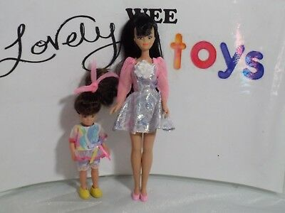 1992 Remco Babysitter's Club dolls - DELUXE CLAUDIA & JENNY - EXCELLENT COND