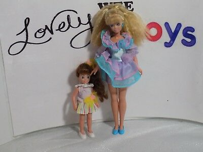 1992 Remco Babysitter's Club dolls - DELUXE STACEY & CHARLOTTE - EXCELLENT COND