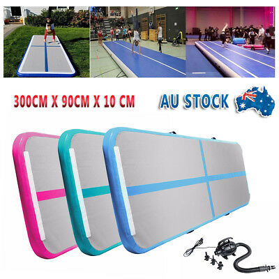 NEW Airtrack Inflatable Air Track Floor Home GYM Gymnastics Tumbling Mat w/ Pump