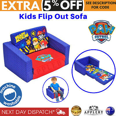 New Kids Flip Out Sofa Paw Patrol Characters Toddler Flipout Day
