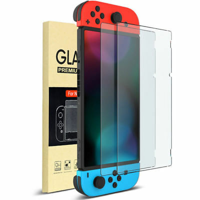 1/2 Pack For Nintendo Switch Film Premium Tempered Glass Screen Protector