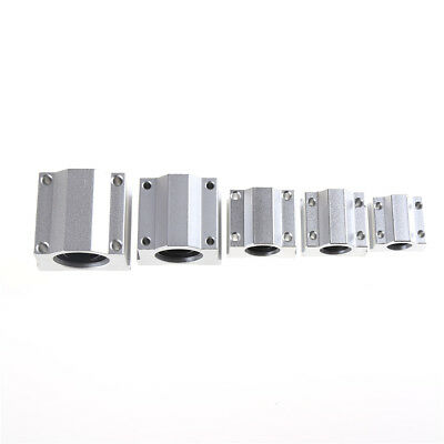 SC8UU-SCS20UU 8-20mm Linear Motion Ball Bearing Machinery Slide Bushing Pip US