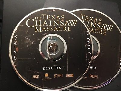 THE TEXAS CHAINSAW MASSACRE (2 Disc - 2003 New Version) DVD