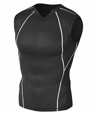 Tesla Mens Compression Wear Sports Fitness Workout Wick Skins Base Layer Shirts
