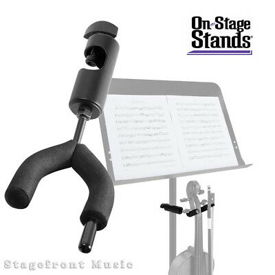 Onstage Violin Hanger /stand Mounts To Tripod Music Stand Vs7200 *brand New*