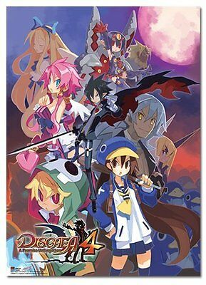 *NEW* Disgaea 4: Cover Art Wall Scroll by GE Animation