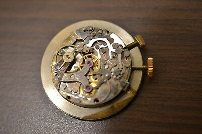 Watch movement Chronographe suisse - VENUS 170 / for parts - dial and hands