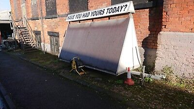 10' * 5' Advertising trailer with Lights and Storage