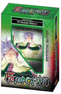FORCE OF WILL - Reiya Starterdeck: Wirbelnde Blätter (Wind) - Deutsch