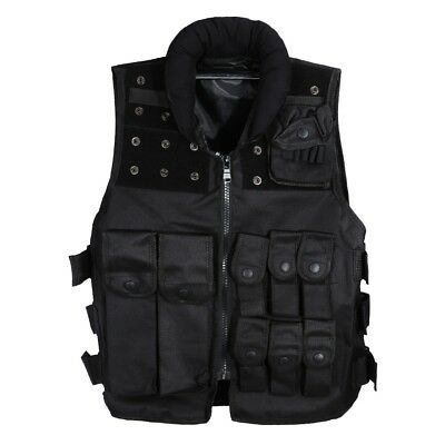 Hunting Military Tactical Vest Molle Waistcoat Combat Assault Outdoor Black