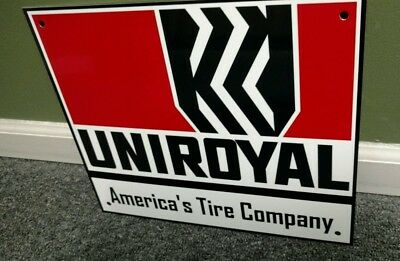 Uniroyal tire tires sign
