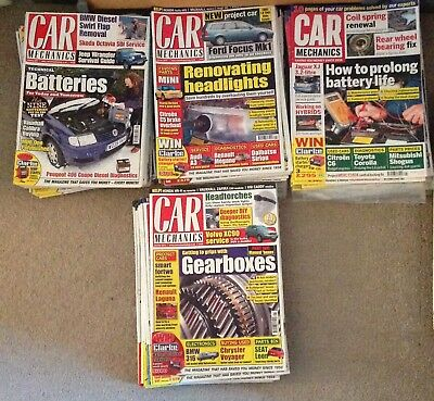 Car Mechanics Magazines 2003 - 2016
