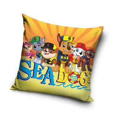 PAW PATROL Chase Skye Marshall Team Sea Dogs cushion cover 40x40cm pillow cover