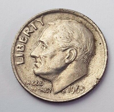 Dated : 1965 - USA - Roosevelt - One Dime - Coin - United States of America