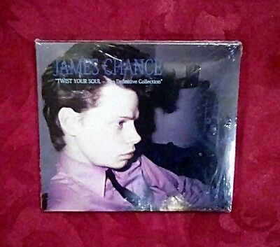 New James Chance Twist Your Soul The Definitive Collection 2CD Set Sealed