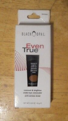 BLACK OPAL EVEN TRUE CONCEAL & BRIGHTEN CONCEALER MAHOGANY unsealed nib