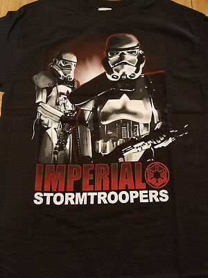 New Licensed Star Wars Imperial Stormtroopers Storm Troopers Tee Shirt S-2XL