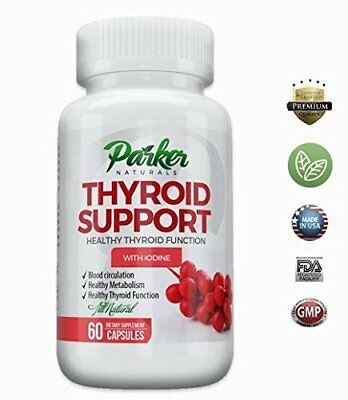 Thyroid Support Supplement & Energy Vitamins  Thyroid Complex & Metabolism Boost