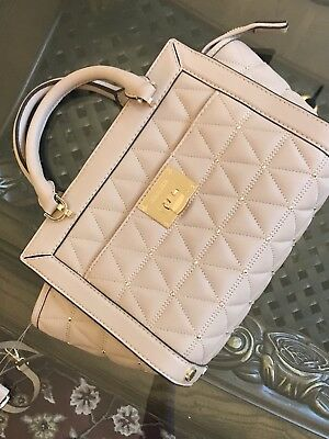 4f1458b75c NWT MICHAEL KORS VIVIANNE Quilted SM TZ Patent Leather Messenger Bag ...