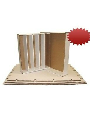 (5) BCW Brand Trading Card Cardboard Super Monster Storage Box with Full Lid -