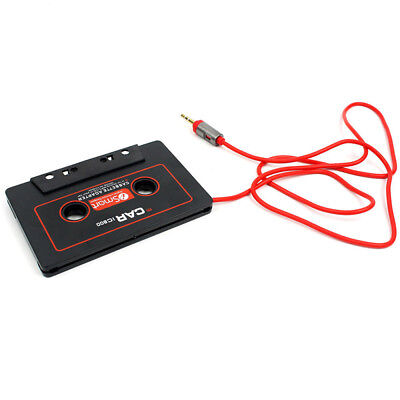 IPod Audio Car IPhone Cassette Tape Adapter AUX Cable 3.5mm Jack CD Player