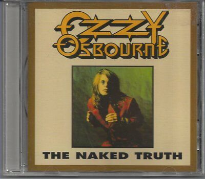 """Ozzy Osbourne """"The Naked Truth"""" OOP Rare Cd Philly Pa 1989 Black Sabbath"""